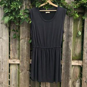 Silence and Noise elastic waist tee dress